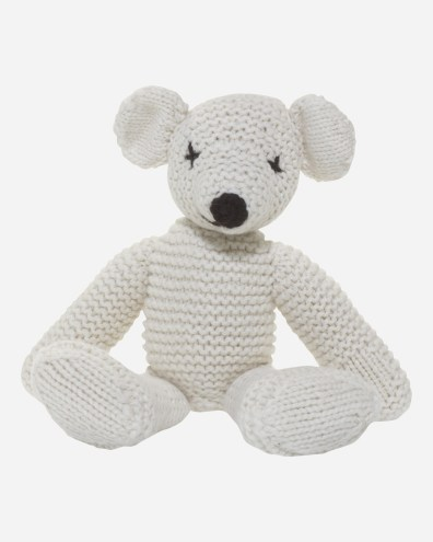 Cashmere teddy bear | £79