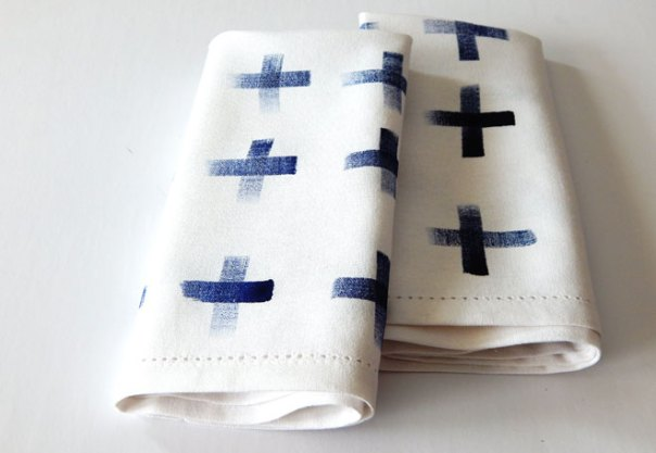 cross napkins