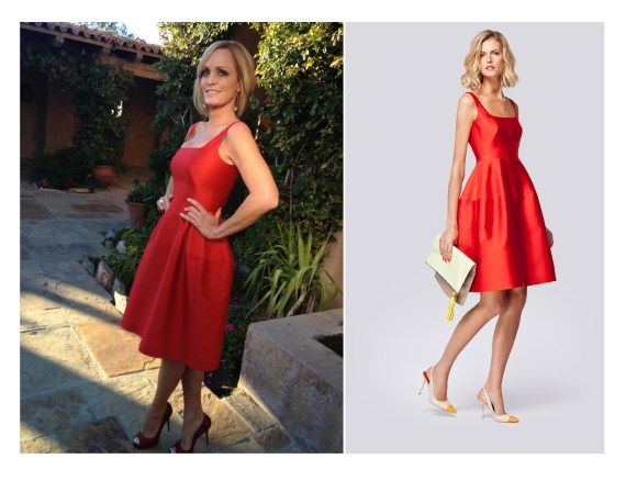 A good girl look with a pair of Lobutins, CH dress and Addisson Taylor Jewelry