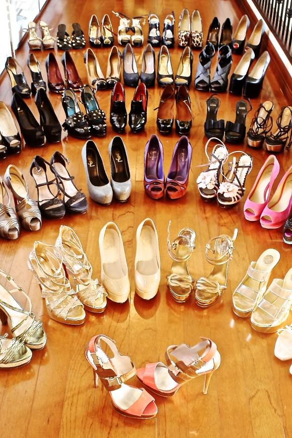 The Real shoe fever
