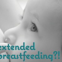"""Considering """"Extended"""" Breastfeeding? Who, Me?"""
