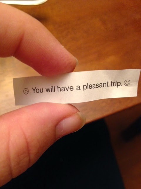 fortune cookie trip