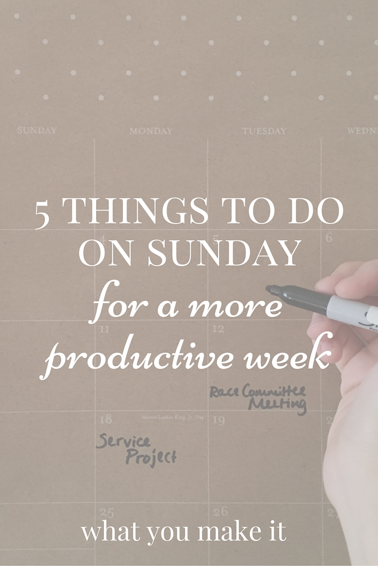 What To Do On A Sunday