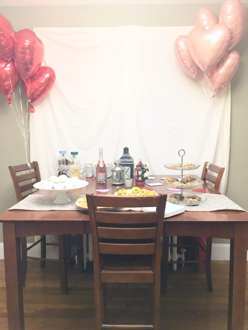 Scenes from a Valentine's Day - Galentine's Party - What You Make It blog