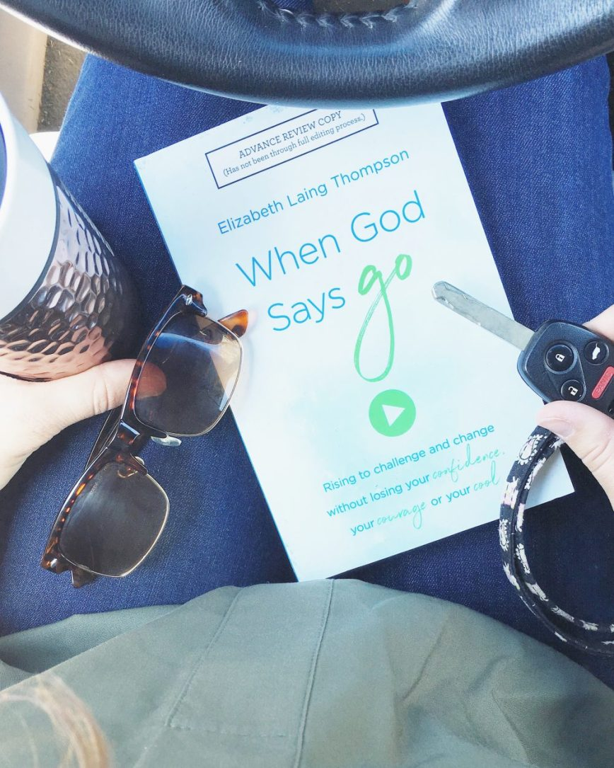 What is God's call for my life? Am I making the right choice? Am I ready to make this change? What if the doors are closing instead? Is God calling me to do something here and now? A book that answers these questions, with full review and giveaway! When God Says Go by Elizabeth Laing Thompson - What You Make It blog