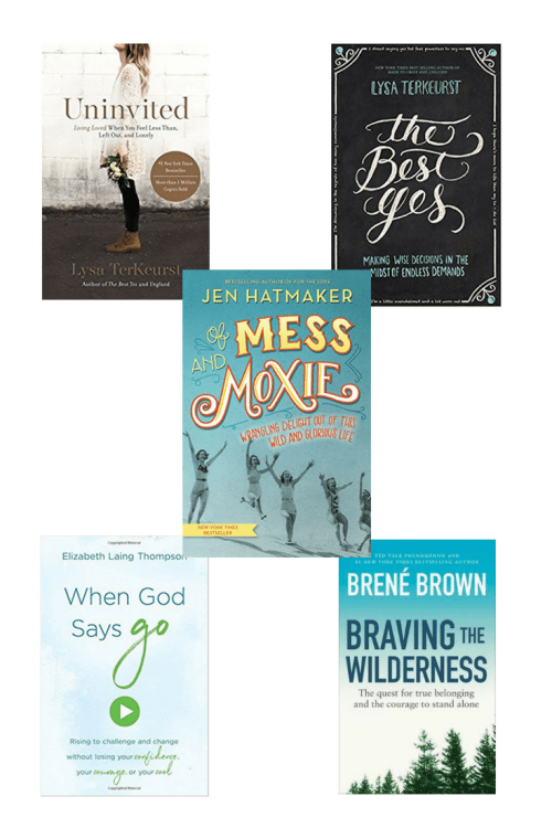 5 books by Christian authors to boost your confidence