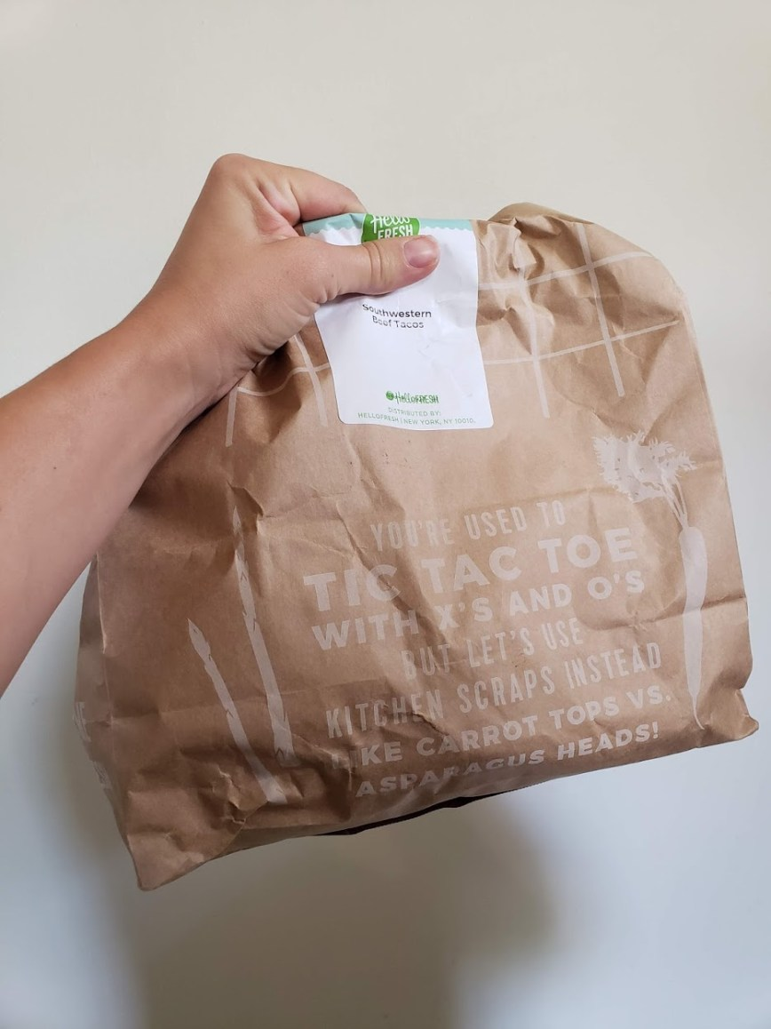 Hello Fresh meal subscription box review - dinner meal boxes - delivery problems - experience - mom blog - What You Make It blog