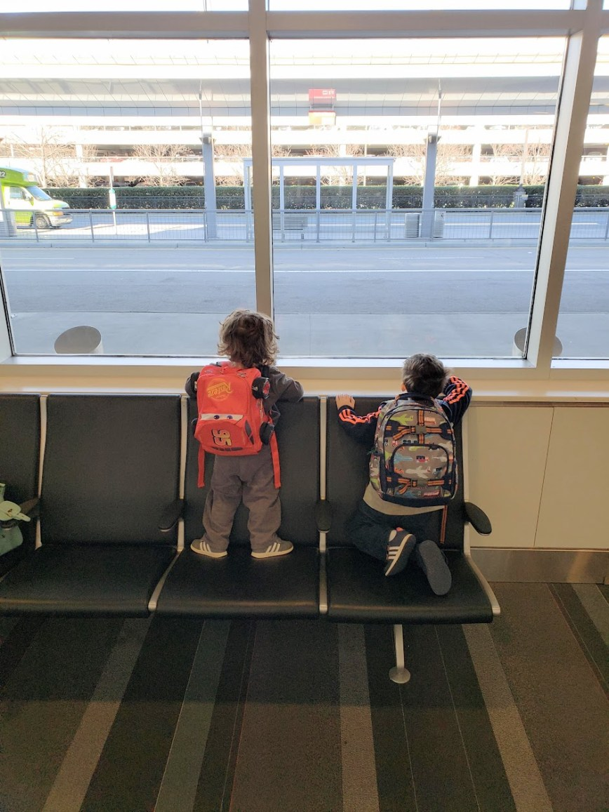 family travel - flying as a family - family adventures - mom blog - lifestyle blog - What You Make It