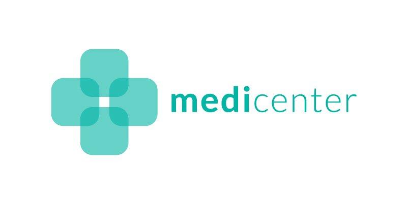 Design logo medicenter Medical clinic jpg 800x400