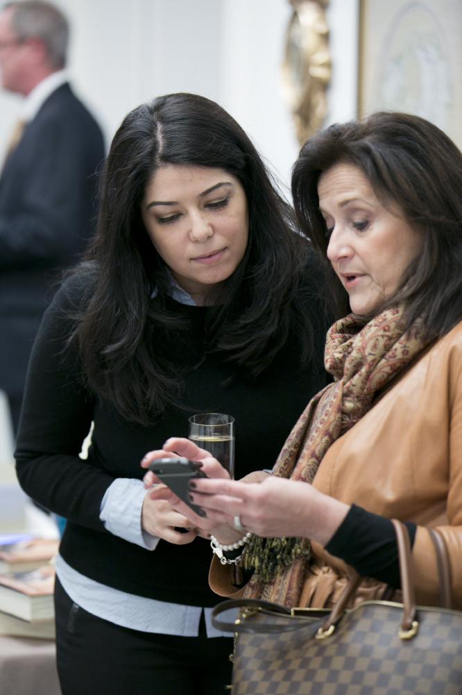Obama White House aide Ferial Govashiri and former Laura Bush CoS Anita McBride