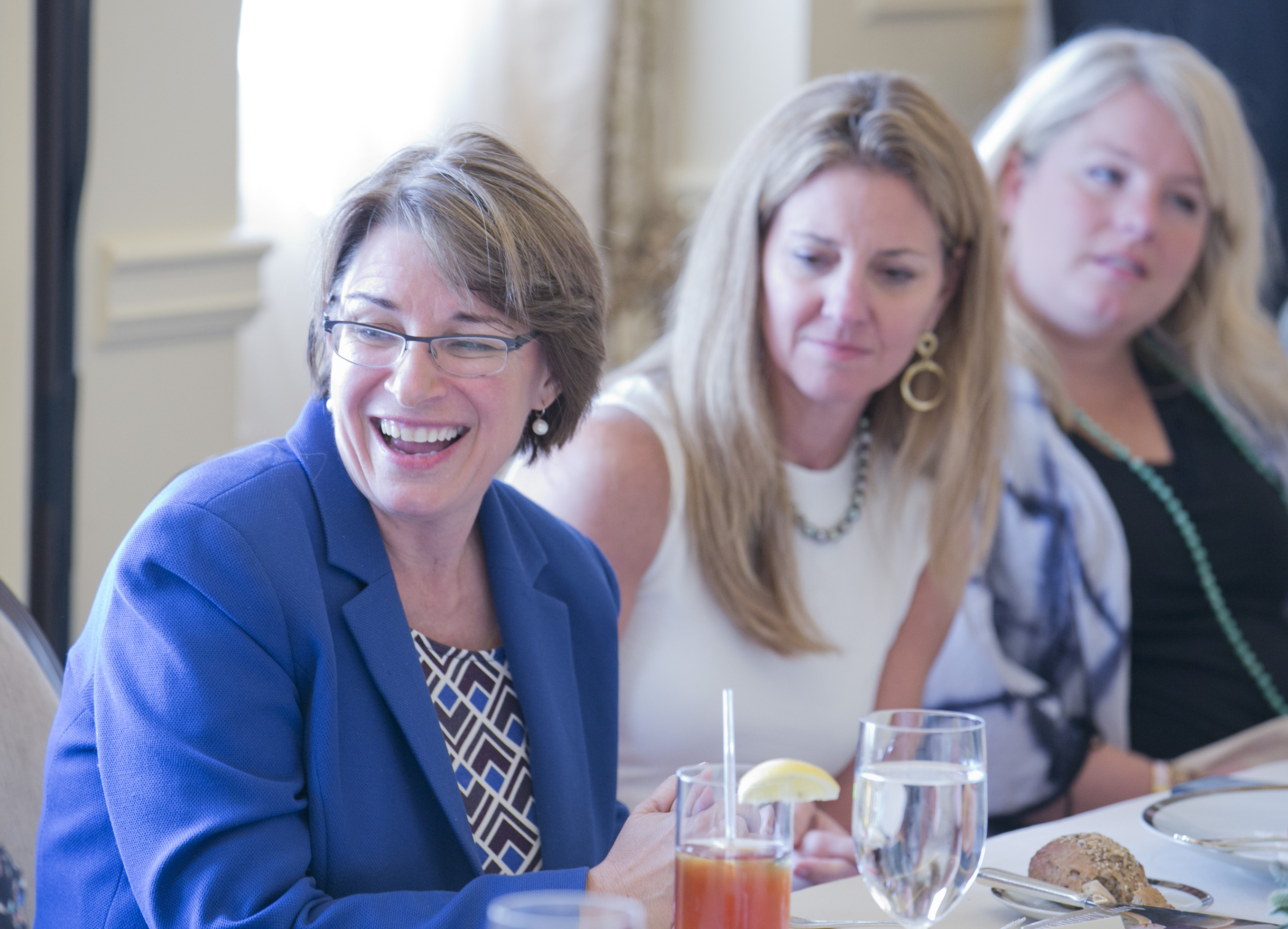 Senator Amy Klobuchar at at the Washington Womens' Technology Lucheon