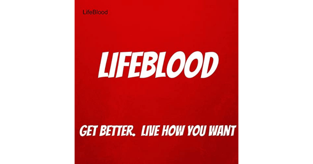 Lifeblood Podcast logo