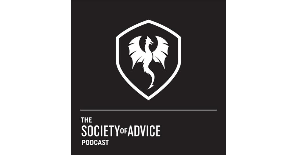 The Society of Advice Podcast logo