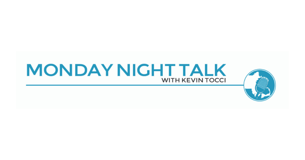 Monday Night Talk with Kevin Tocci