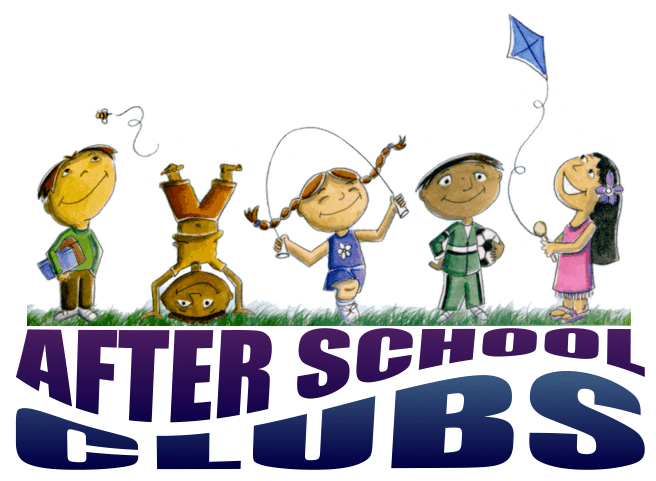2016-2017 After School Clubs For Trimester I