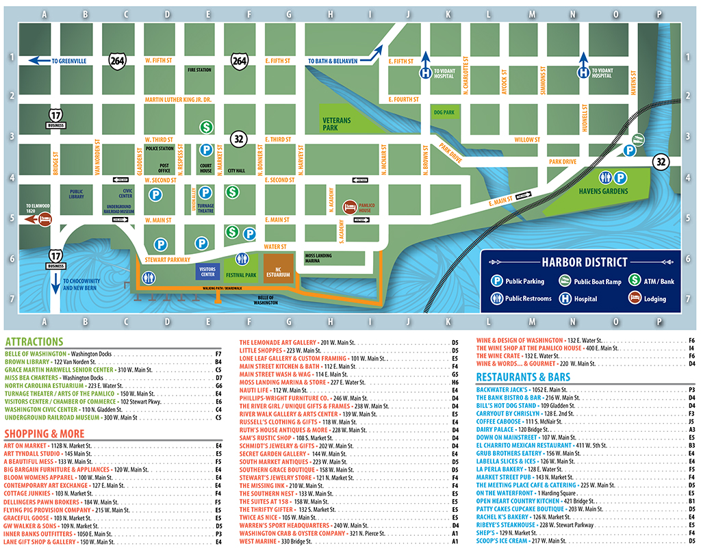 Downtown Directory