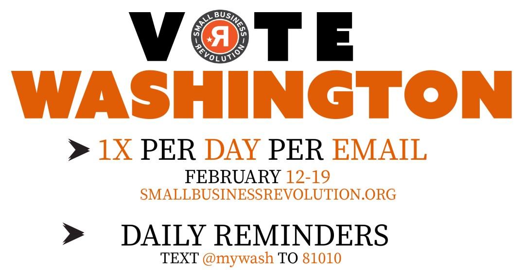 Vote #mywashingtonnc