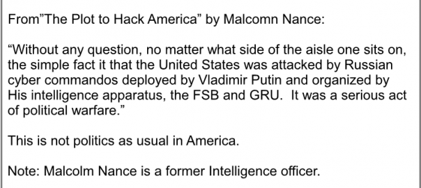 """The Plot to Hack America"" by Malcolm Nance"