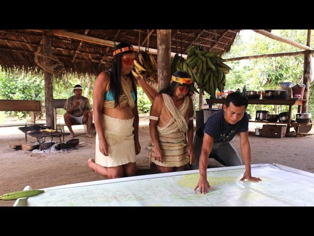 Waorani People Map Their Rainforest To Save It