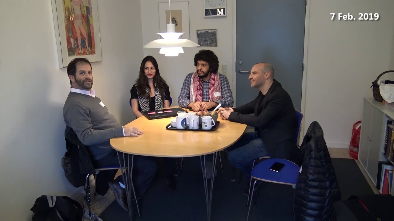 The Humboldt3 on resisting apartheid, interviewed at the Danish Parliament