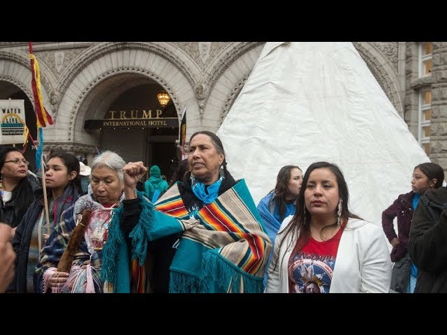 Indigenous Peoples Movement Rally