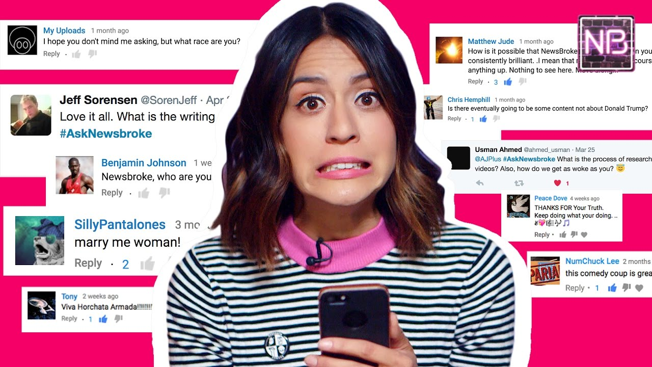 Francesca Answers Your Burning Questions | Newsbroke (AJ+)