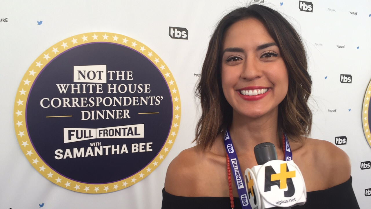 LIVE AT NOT THE WHITE HOUSE CORRESPONDENTS RED CARPET! | Newsbroke (AJ+)