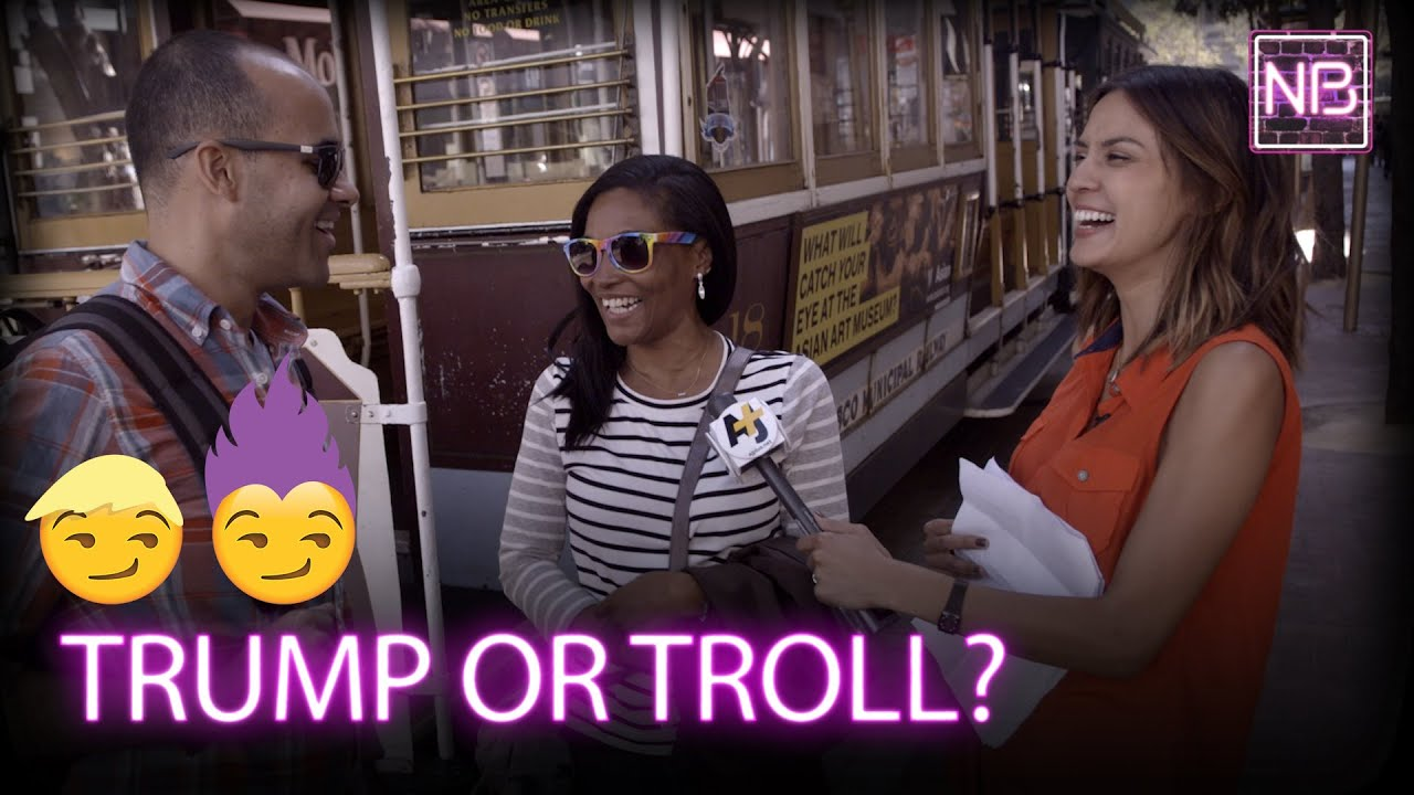 Who Said It: Trump Or Troll? | Newsbroke (AJ+)