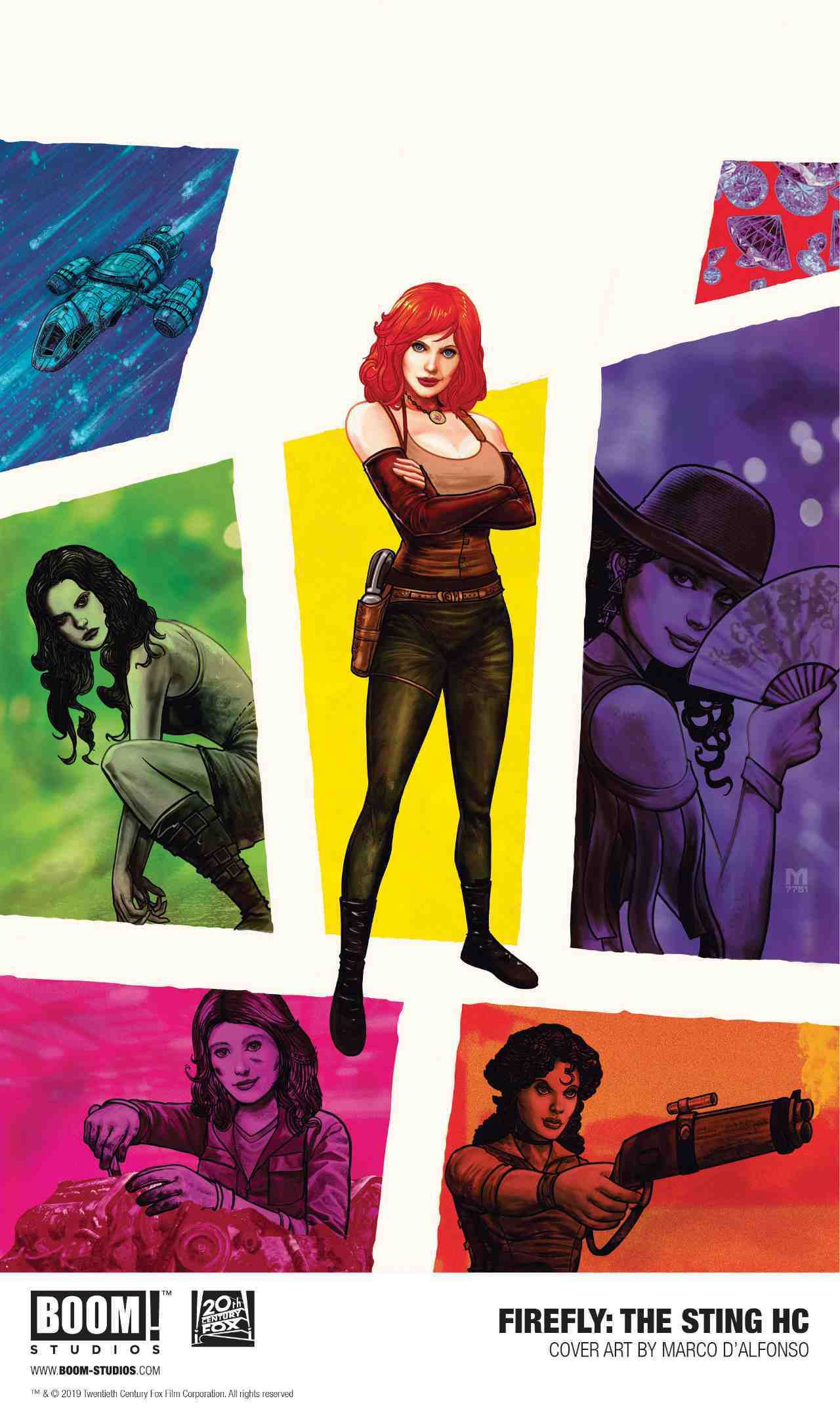 BOOM! Studios Announce Firefly: The Sting Graphic Novel