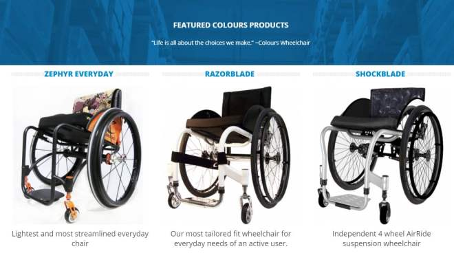 colourswheelchairs