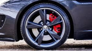 Tire on asphalt