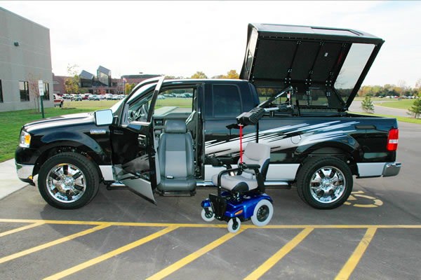 wheelchair lift for truck bedroom chair galway accessible 7 trucks by