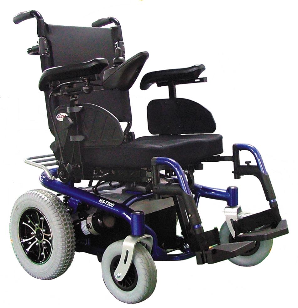 Wheelchair Assistance  Jazzy 7 power wheelchair
