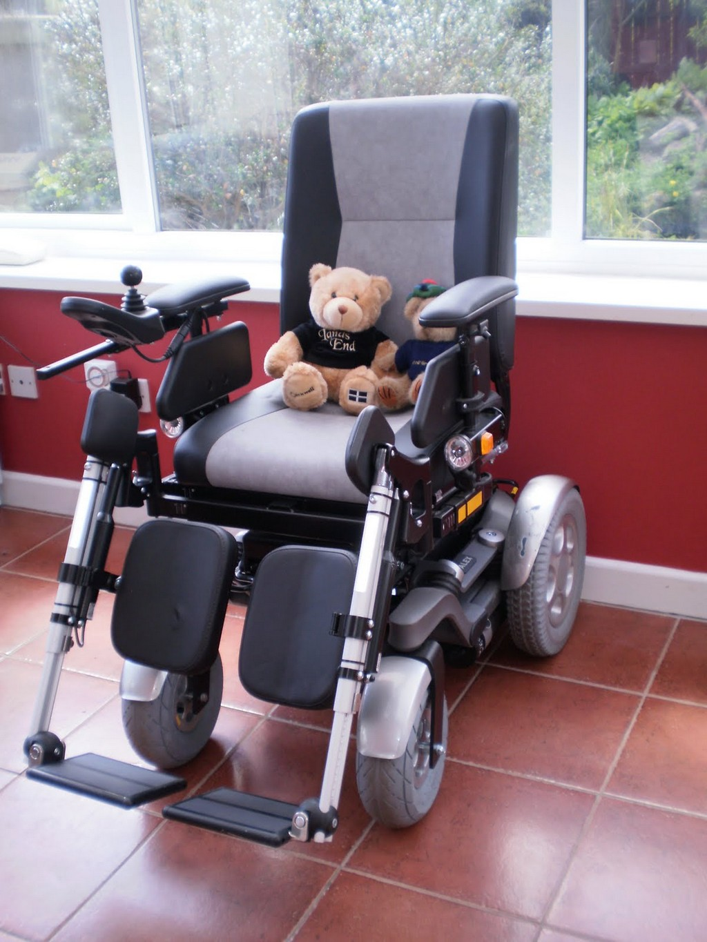 Wheelchair Assistance  Invacare power tiger pediatric