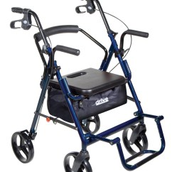 Walker Chair Combo White Spandex Covers Bulk Wheelchair Assistance Wide Rollator
