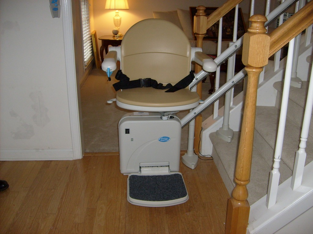 Wheelchair Assistance  Sterling stairlift