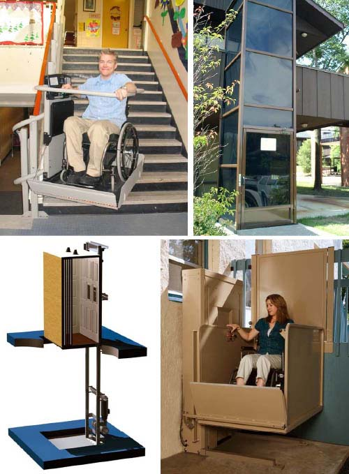 Wheelchair Assistance  Electric wheelchair lift for truck bed