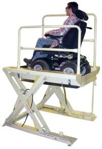 Wheelchair Assistance | Custom hydraulic wheelchair lifts