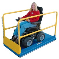 Wheelchair Assistance | School bus wheelchair lift