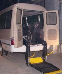 Wheelchair Assistance | Ricon wheelchair lift