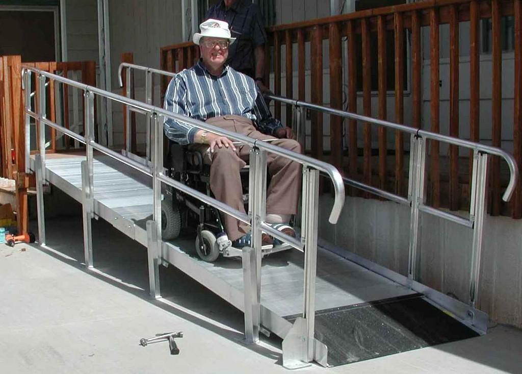 Wheelchair Assistance  Bay area portable wheelchair ramp