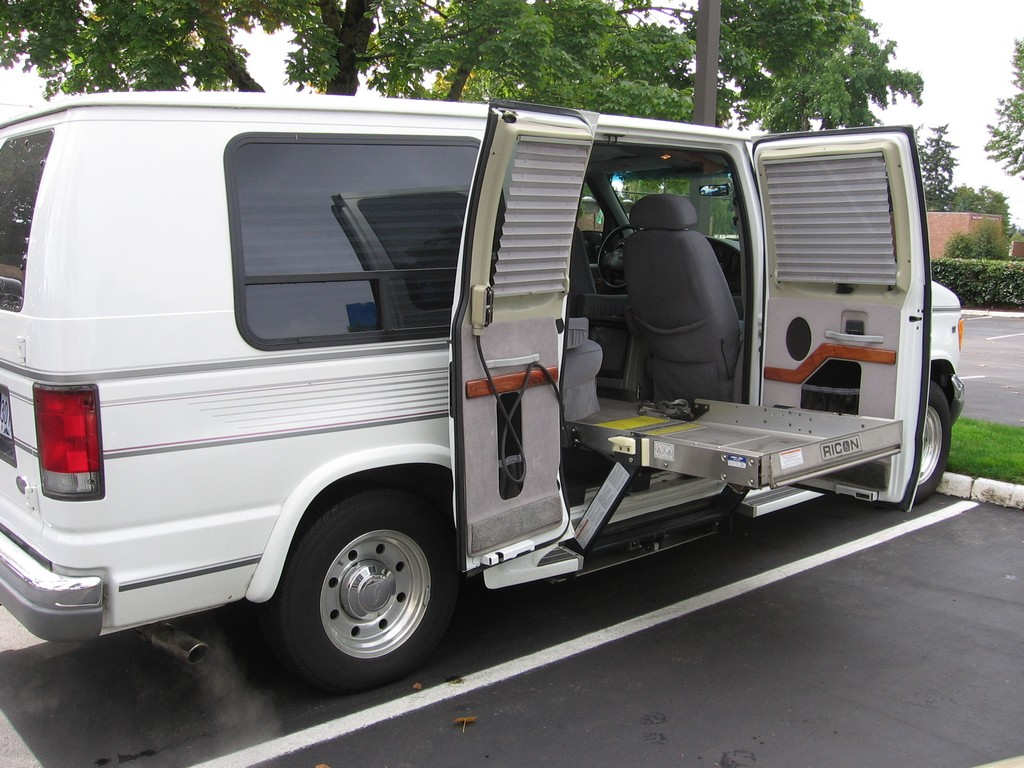 Wheelchair Assistance  Commercial wheelchair accessible van