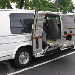 Wheelchair Van For Rent Keller Barber Chair Assistance Monarch Lift Vans