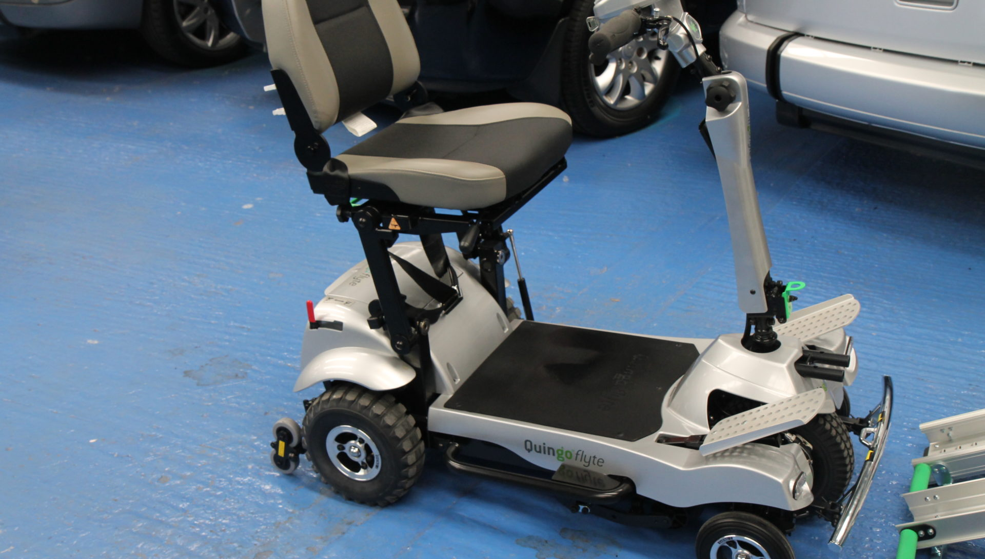 wheelchair car chair with leg rest auto quingo self load mobility scooter