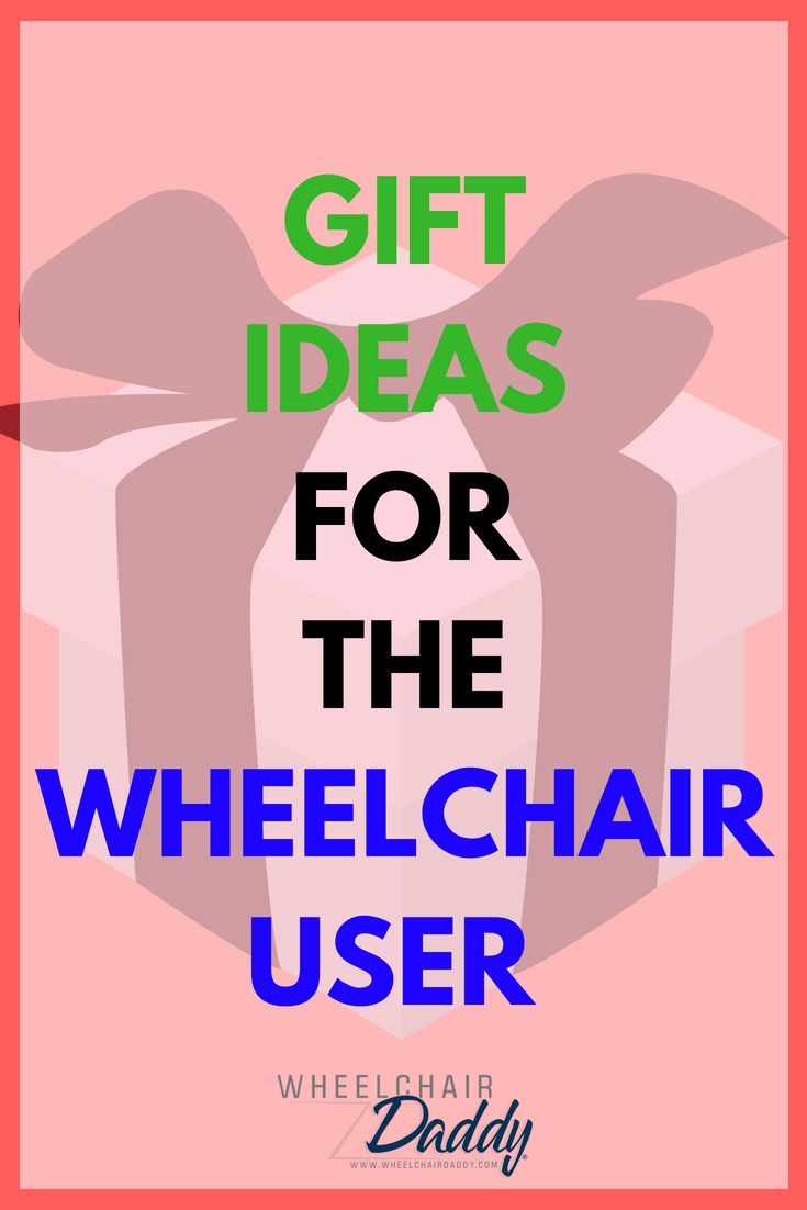 Glenn Moscoso of Wheelchair Daddy shares awesome gift ideas for the wheelchair user for holidays, Christmas, birthdays, and other times of the year. He includes wheelchair accessories like the best jeans for wheelchair users, watches, gadgets, and bags. These products are so cool! | www.WheelchairDaddy.com