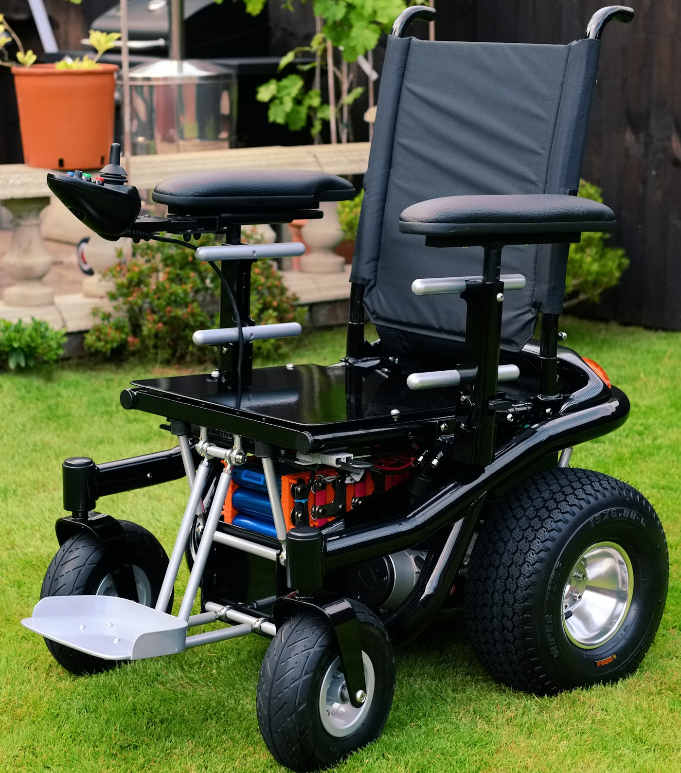 Electric Wheel Chairs Bm3 Powerchair The 16mph Fast Long Range Lithium