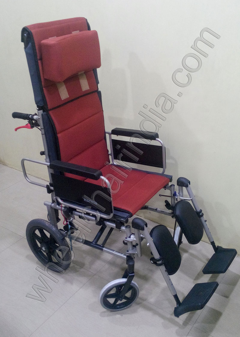Commode Reclining Wheelchair  wheelchair24