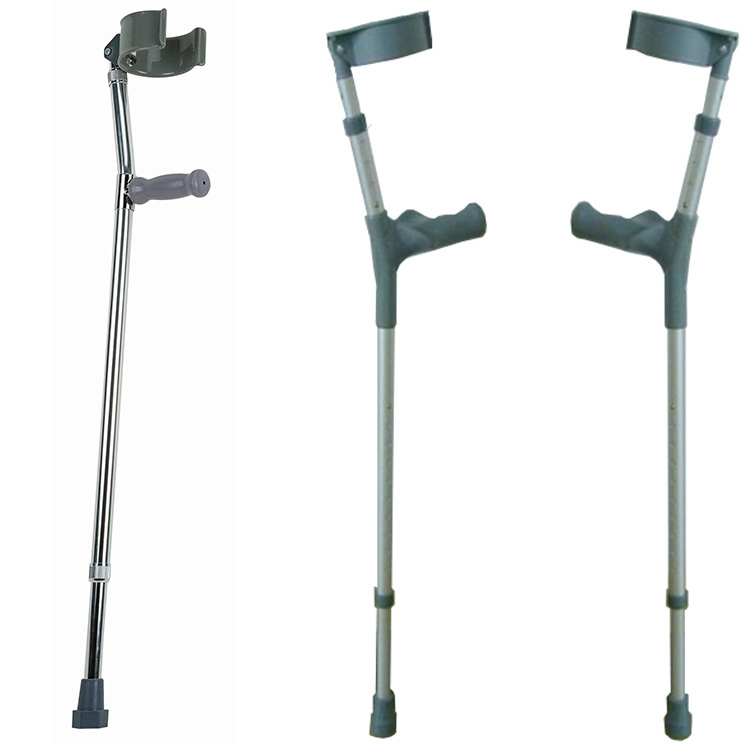 WM1062 - FOREARM ALUMINIUM CRUTCHES