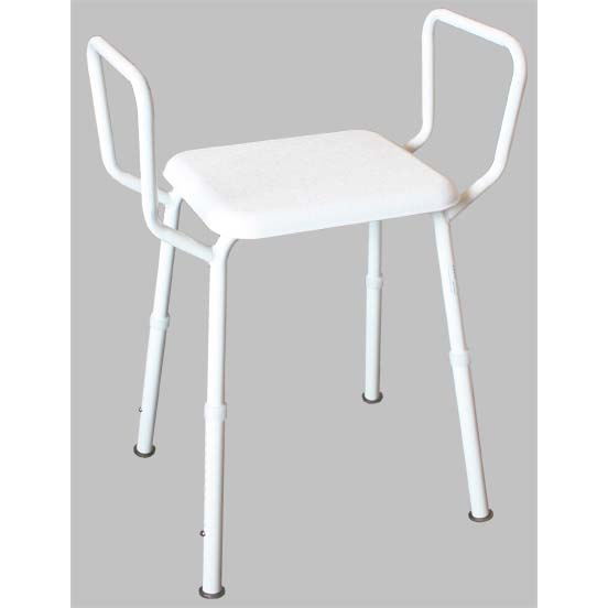 TRIANGULAR SHOWER STOOL - Wheelchair Man (Australasia) Pty Ltd