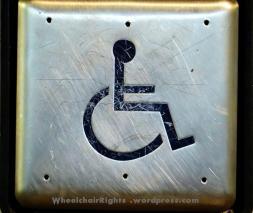 Wheelchair Door Button